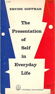 <i>The Presentation of Self in Everyday Life</i> Book by Erving Goffman