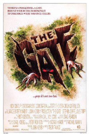 The Gate (1987 film) - Theatrical release poster