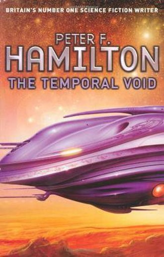 The Temporal Void - Hardcover edition cover