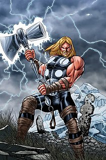 Thor (Ultimate Marvel character) super hero in the Ultimate Marvel Universe