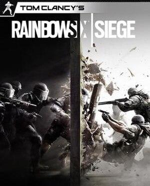 Tom Clancy's Rainbow Six Siege - Image: Tom Clancy's Rainbow Six Siege cover art