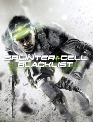 Tom Clancy's Splinter Cell: Blacklist - Cover art featuring protagonist Sam Fisher