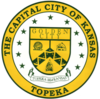 Official seal of Topeka, Kansas