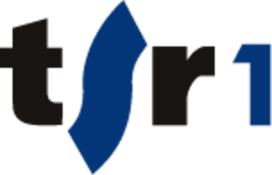 RTS Un - TSR 1 logo from 2006-2012