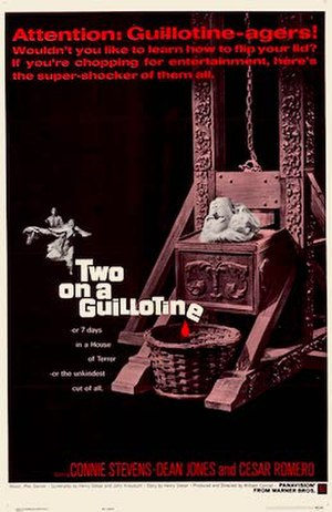 Two on a Guillotine - DVD cover