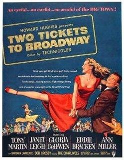 <i>Two Tickets to Broadway</i> 1951 film