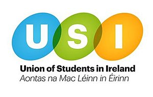 Union of Students in Ireland - Image: USI Logo 2008 Onwards