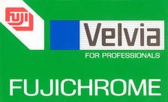 Velvia - Image: Velvia 50 135 box top