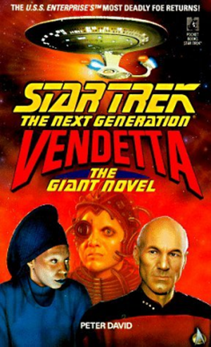Vendetta (Star Trek) - Front cover of the original paperback