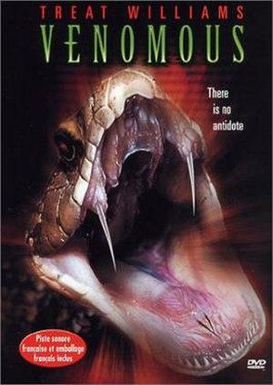 Venomous (film) - Image: Venomous dvd cover