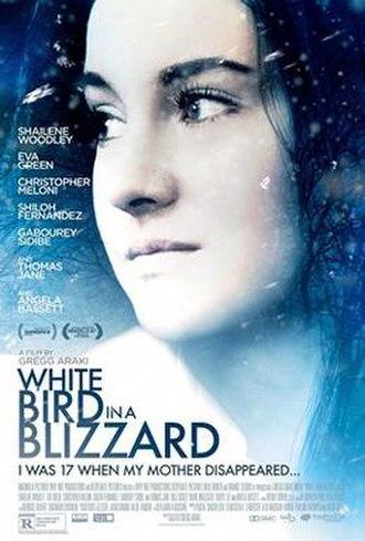 White Bird in a Blizzard - Film poster
