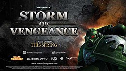 Warhammer 40,000; Storm of Vengeance promotional cover.jpg