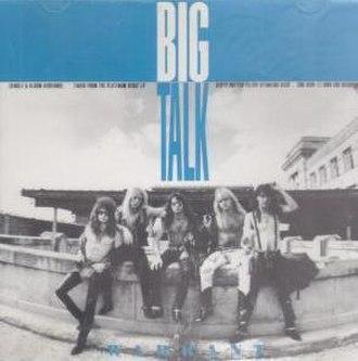 Big Talk (song) - Image: Warrantbigtalksinge