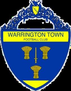 Warrington Town F.C. Association football club in Warrington, England