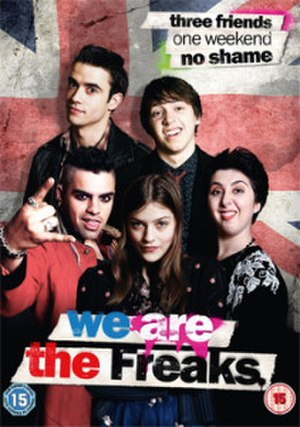We Are the Freaks - We Are the Freaks DVD cover