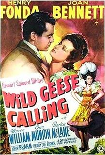 <i>Wild Geese Calling</i> 1941 film by John Brahm
