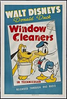 <i>Window Cleaners</i> 1940 Donald Duck cartoon