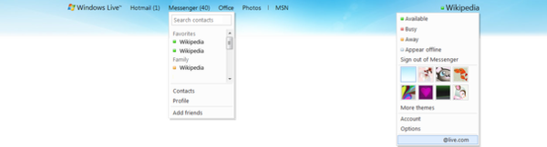 Windows Live Wave 4 header