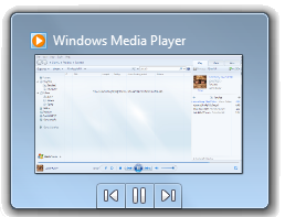 Windows Media Player 12 live preview