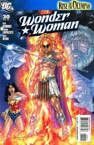 Olympian (comics) - Image: Wonder Womanvol 3.30