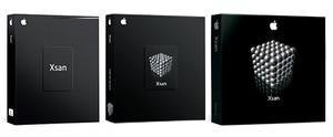 Xsan - Box artwork for Xsan versions 1.0–1.4.