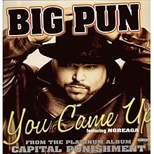 Big Pun featuring Noreaga - You Came Up (studio acapella)