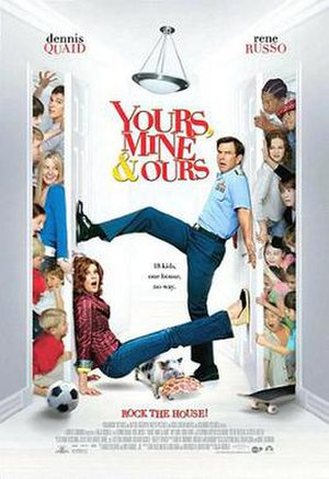 Yours, Mine & Ours (2005 film) - Theatrical release poster