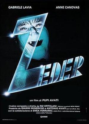 Zeder - Italian theatrical release poster