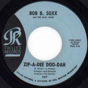 Zip-a-Dee-Doo-Dah - Image: Zip a Dee Doo Dah Bob B. Soxx