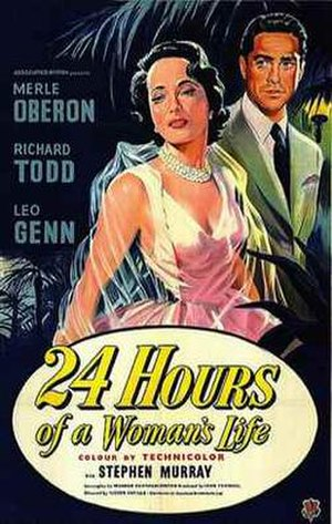 24 Hours of a Woman's Life - U.S. poster