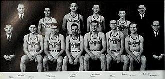 1938–39 Illinois Fighting Illini men's basketball team - Image: 1938 39 Illinois Fighting Illini men's basketball team