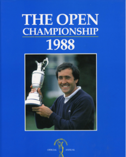 1988 Open Championship golf tournament held in 1988