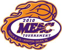2010 MEAC Tournament Logo