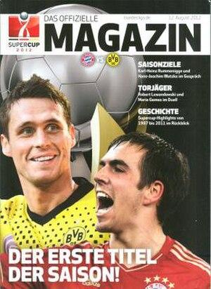 2012 DFL-Supercup - Image: 2012 DFL Supercup programme