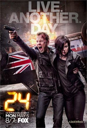 24: Live Another Day - Promotional poster