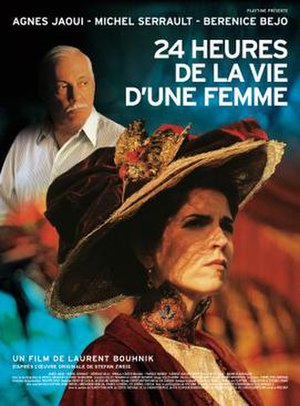 24 Hours in the Life of a Woman (2002 film) - French Poster
