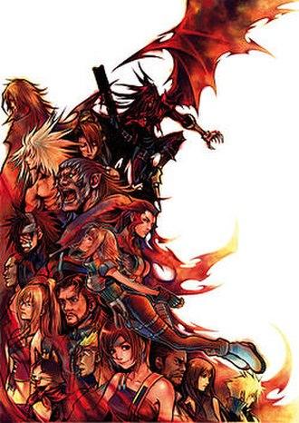 Dirge of Cerberus: Final Fantasy VII - Characters featured in Dirge of Cerberus.
