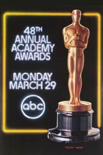 48th Academy Awards - Image: 48th Academy Awards
