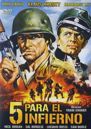 Five for Hell - Spanish DVD cover