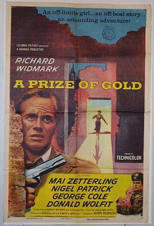 A Prize of Gold - Theatrical poster