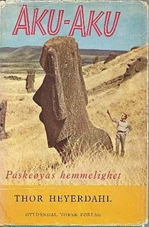 <i>Aku-Aku</i> Book by Thor Heyerdahl