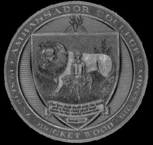 Ambassador College - Image: Ambassador College (seal)