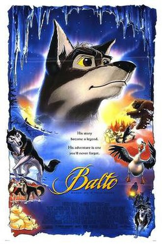 Balto (film) - Theatrical release poster by John Alvin.