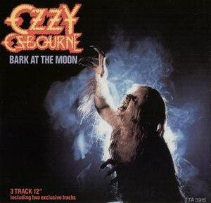 Bark at the Moon (song) - Image: Bark At The Moon Single