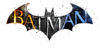 "Batman: Arkham - The ""Bat"" logo for the series, as seen on the Batman: Arkham Collection box art, featuring the color schemes (from left to right) used on the Arkham Asylum, Arkham City, and Arkham Origins logos"