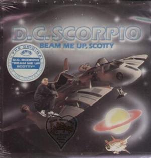 Beam Me Up, Scotty (D.C. Scorpio song) - Image: Beam Me Up Scotty single
