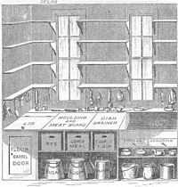 """Beecher's """"model kitchen"""" brought early ergonomic principles to the home."""