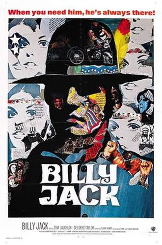 Billy Jack - Theatrical release poster.