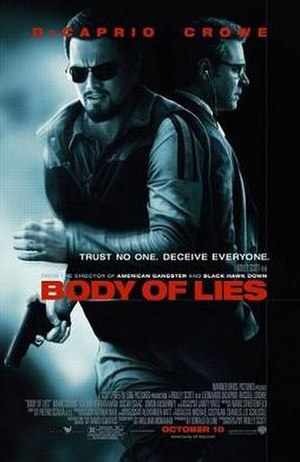 Body of Lies (film) - Theatrical release poster