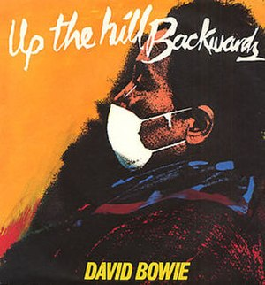 Up the Hill Backwards - Image: Bowieuphill